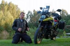 Suzuki V Strom 1050 model 2021 Wakacyjny test na dystansie 1500 km podczas urlopu w Polsce