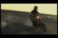 Ducati Hypermotard Stunts