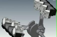 Elenore V8 - Ducati z 2 korbowodami i 8 cylindrami