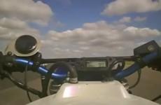 GSX-R1100 turbo - power wheelie na piatym biegu