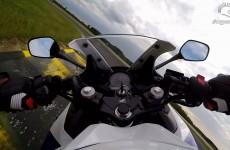 Honda CBR300R 2015 - okrazenie Pannoniaring