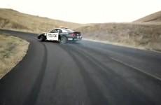 Triumph Speed Triple vs Mustang V8 Cobra - Nick Brocha i Ernie Vigil w akcji