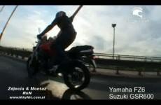 motocykle yamaha fz6 suzuki gsr 600