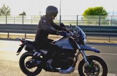Moto Guzzi V85 TT w akcji