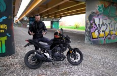 Yamaha MT 03 2020 graffiti