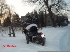 snow burnout