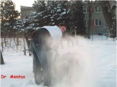 big snow burnout