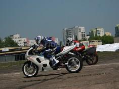 wyscigi motocyklowe Bemowo