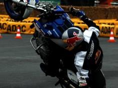Intermot stunt show