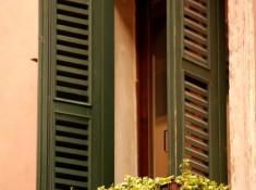 Zielone okiennice