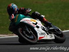 Yamaha R6 na torze
