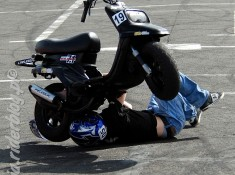 Panczo wypadek na StuntGP
