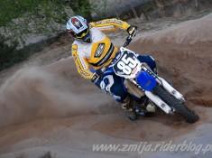 Gora Kalwaria trening motocrossowy