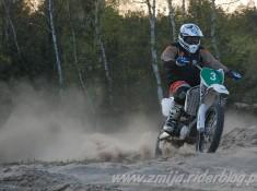 Gora Kalwaria treningi motocrossowe