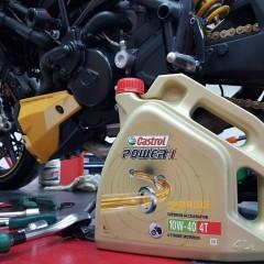 Motocyklowy olej silnikowy z