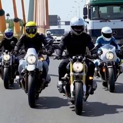 BMW R nineT Scrambler, Racer, Pure, Urban GS - test 5 członków rodziny