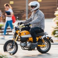 Honda Monkey 125 test 53 z
