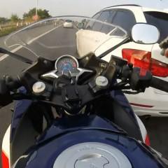 wymuszenie pierwszenstwa na motocykliscie z