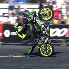 Polish Ninja 1st Place Stunt Riding World Championship z