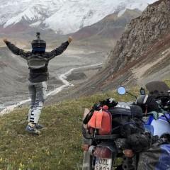 Kirgistan motocyklem z