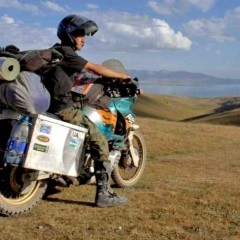 Kirgistan jezioro Song Kul z
