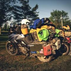jak spakowac sie na motocykl z