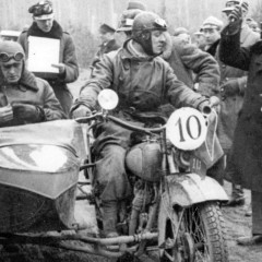 Polski motocykl CWS M 55 z