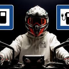 motocykl paliwa z
