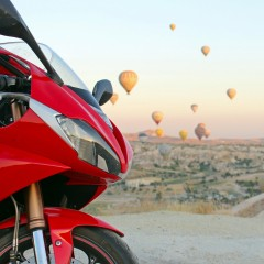 Tryumph Daytona Turcja balony z