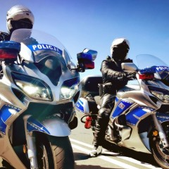 Yamaha FJR 1300 w szeregach polskiej policji z