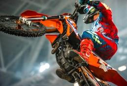 W powietrzu 24 MX Supercross Sztokcholm z