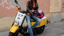 MottoWear Stella - motocyklowe jeansy dla dziewczyn