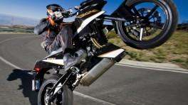 10 najlepiej idących na koło motocykli