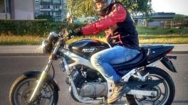 Świeżo upieczony motocyklista na 125cc - relacja