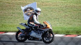 Piotrek Biesiekirski w eliminacjach Red Bull MotoGP Rookies Cup