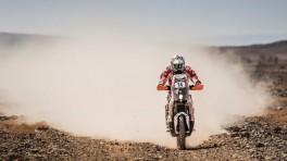 Polscy motocykliści w Rallye OiLibya Maroc - dzień 2
