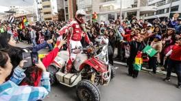 Gorące przywitanie w La Paz, odpoczynek, protest i... boliwijska niespodzianka
