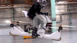 Hoverbike Scorpion 3 latajacy motocykl z