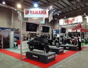 yamaha stoisko targowe 4 ogolnopolska wystawa motocykli i skuterow 2012