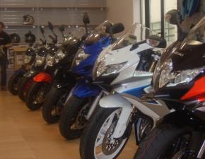 Suzuki motocykle w rzedzie