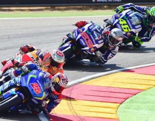 GP Aragonii 2016 wyscig MotoGP z