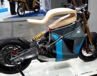 elektryczny motocykl z