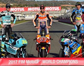 MotoGP 2017 Mistrzowie Swiata World Champion 1 z