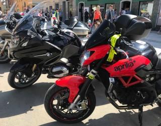 Aprilia i R1200GT Motoserce Pszczyna 2018 z