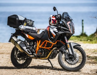KTM 1290 Super Adventure R test motocykla z