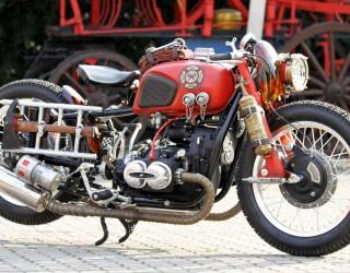 Dniepr K650 Fire Bike custom z