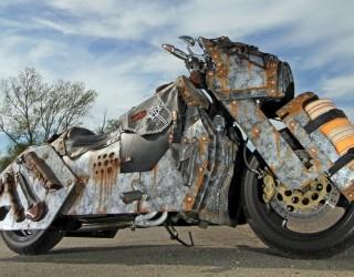 Yamaha T Max Custom Pancernik z