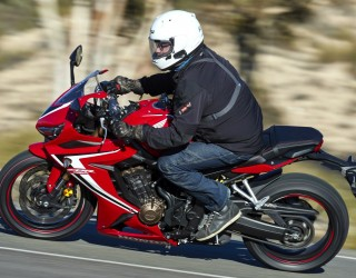 Honda CBR 650 R 2019 dynamika z