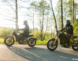 01 Ducati Scrambler 800 Ducati Scrambler 1100 przyroda