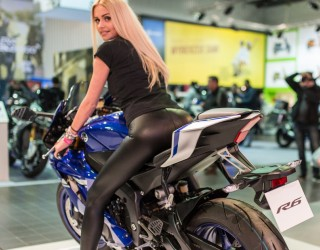 Targi motocyklowe Moto Expo 2017 R6 sexy z